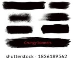 grungy hand made vector design...   Shutterstock .eps vector #1836189562
