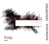 grungy abstract banner....   Shutterstock .eps vector #1836189565