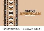 native american heritage month... | Shutterstock .eps vector #1836244315