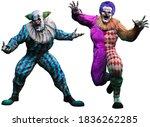 Attacking Killer Clowns  3d...