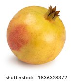 Juicy Pomegranate Isolated On A ...