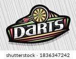 Vector Logo For Darts Sport ...