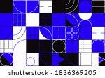 modern geometric abstract... | Shutterstock .eps vector #1836369205