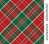 plaid pattern seamless. check... | Shutterstock .eps vector #1836396562
