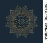 Elegant Ornamental Mandala...