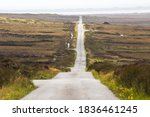 Commercial Road Over Moorland ...