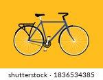 bicycle flat design. vector... | Shutterstock .eps vector #1836534385