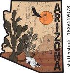Arizona Desert Illustration...