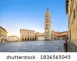 Pistoia  Italy. Panorama Of...