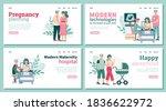 concept of pregnancy  baby...   Shutterstock .eps vector #1836622972