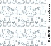 seamless pattern vector... | Shutterstock .eps vector #1836632332