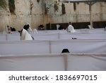Jewish Worshipers Pray At The...