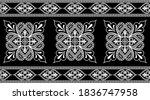 black white ethnic pattern... | Shutterstock .eps vector #1836747958