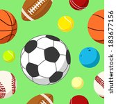 ball background 2 | Shutterstock . vector #183677156