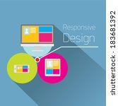 vector modern color responsive...