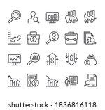 financial stock market... | Shutterstock .eps vector #1836816118