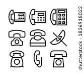 phone icon or logo isolated...