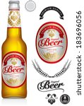 alcohol,alcoholic,award,background,badge,banner,barley,beverage,booze,brand,branding,brew,brewery,brewing,cap