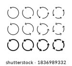 collection of different... | Shutterstock .eps vector #1836989332