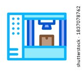 manufacturing 3d printer icon... | Shutterstock .eps vector #1837078762