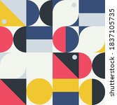 seamless pattern in...   Shutterstock .eps vector #1837105735