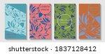 luxury cover design template.... | Shutterstock .eps vector #1837128412