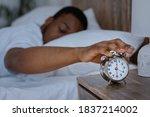 Sleepy African Man Awakening...