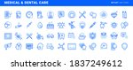 set of flat line icons of...   Shutterstock .eps vector #1837249612
