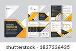 modern business brochure vector ...   Shutterstock .eps vector #1837336435