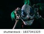 Closeup Of A Disturbing Evil...