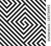 abstract seamless pattern  | Shutterstock .eps vector #183734492