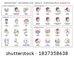 routes of transmission  signs... | Shutterstock .eps vector #1837358638