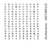 user interface iconset in...
