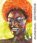 Black Lives Matter. Portrait Of ...