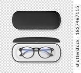 vector 3d realistic plastic... | Shutterstock .eps vector #1837467115