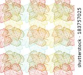 elegant seamless pattern with...   Shutterstock . vector #183757025