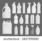 household chemicals vector... | Shutterstock .eps vector #1837590085