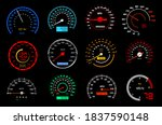 car dashboard speedometer or...   Shutterstock .eps vector #1837590148