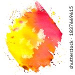 Abstract Vector Watercolor...