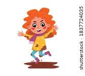 Bully Girl Character Jumping...