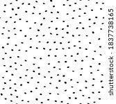 black abstract random fun.... | Shutterstock .eps vector #1837738165