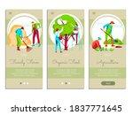farming people mobile app...   Shutterstock .eps vector #1837771645