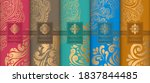 luxury packaging design of... | Shutterstock .eps vector #1837844485