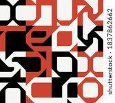 typographic poster design... | Shutterstock .eps vector #1837862662