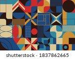 new geo artwork of vector... | Shutterstock .eps vector #1837862665