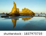 Usa  Oregon  Bandon Beach....