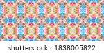 watercolor print. modern...   Shutterstock . vector #1838005822