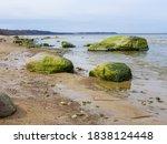 Baltic Coastline Under A Partly ...