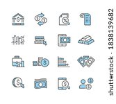 business and marketing icons set | Shutterstock .eps vector #1838139682