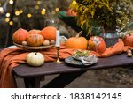 Fall Themed Holiday Table...